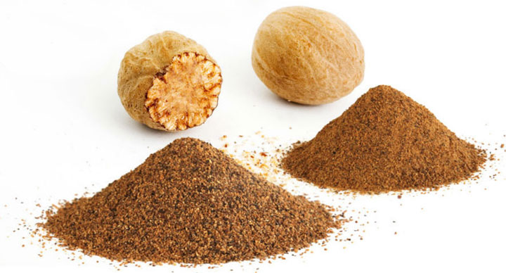 Nutmeg as anxiolytic, antidepressant and antiepileptic
