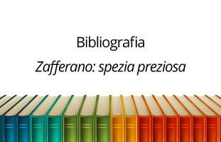 Cover bibliografia Zafferano spezia preziosa